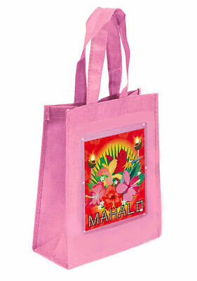 Luau Hawaiian Party Favor Treat Goody Bags-Non Woven Fabric-10  X 8  X 4  (1) • 1.64£