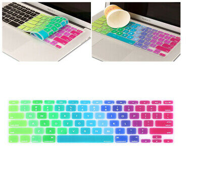 $7.49 • Buy Silicone Keyboard Skin Cover For Macbook Air Pro 13 15 Retina Release 2012-2017
