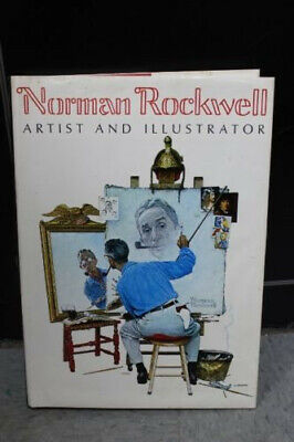 $ CDN60 • Buy Norman Rockwell Artist And Illustrator Coffee Table 1970