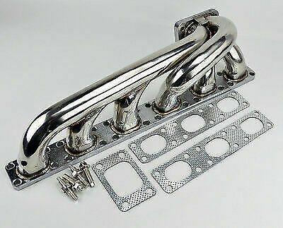 $545 • Buy 92-98 FOR BMW E36 M50 M56 I6 T3 L6 Flange Stainless Steel Turbo Manifold