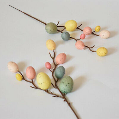 £2.28 • Buy Toy Gifts Egg Tree Branches DIY Painting Hanging Ornaments Easter Decoration