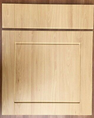 Shaker Light Beech Kitchen Unit Cabinet Cupboard Doors Compatible B&Q Chilton • 28.99£