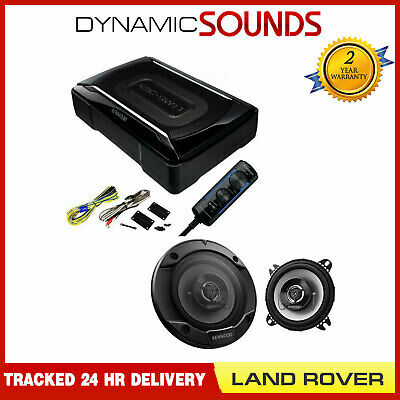Kenwood Amplified Under Seat Sub & Car Speaker Kit For Land Rover Defender 90 • 123.95£