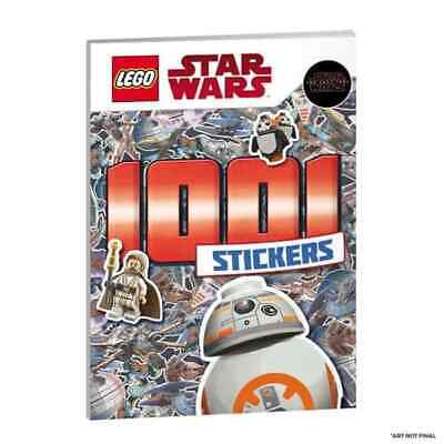 LEGO STAR WARS 1001 Stickers Colouring Activity Adventure Book Kids NEW • 5.99£