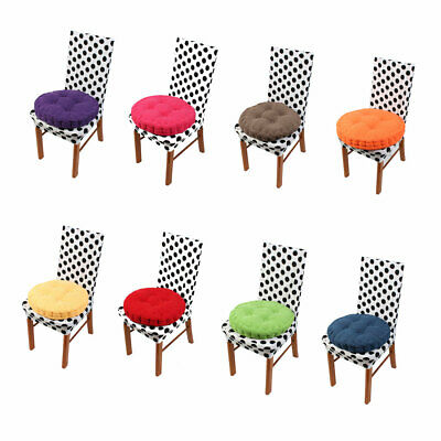 AU29.03 • Buy Home Corduroy Round Shaped Thickened Pillow Seat Chair Cushion Pad Mat