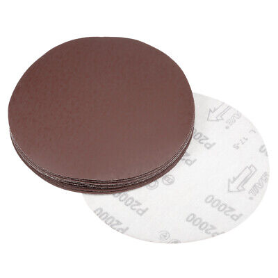 AU12.31 • Buy 7 Inch Sanding Disc 2000 Grits Flocking Sandpaper For Sander 10 Pcs