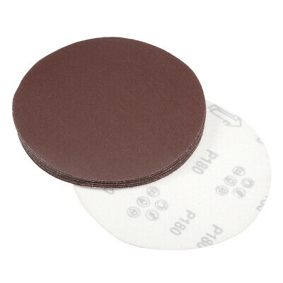 AU15.85 • Buy 7 Inch Sanding Disc 180 Grits Flocking Sandpaper For Sander 10 Pcs