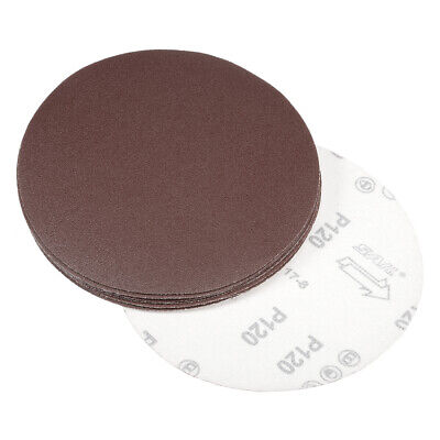 AU16.77 • Buy 7 Inch Sanding Disc 120 Grits Flocking Sandpaper For Sander 10 Pcs