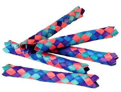 £6.07 • Buy 12 COLORFUL CHINESE FINGER TRAPS Party Favor Bird Parrot Toy Craft Gift Bag