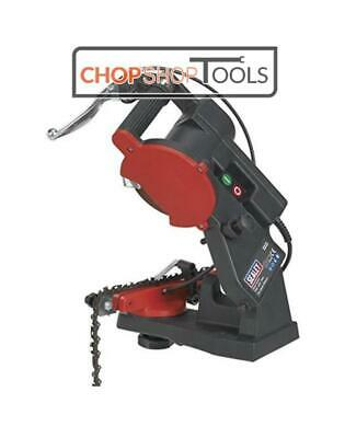 £48.90 • Buy SEALEY 85W Electric Bench Chainsaw Blade Sharpener Grinder Chain Saw SMS2002C