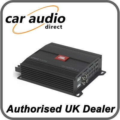 £134.99 • Buy JBL Stage A6004 – 560 Watts 4 Channel Amplifier For Speakers Or Subwoofer