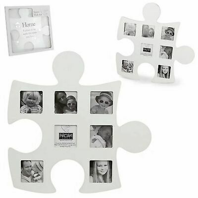 £15.99 • Buy Said With Sentiment Jigsaw Multi Photo Frame Wall Art Family Friends Gift Idea