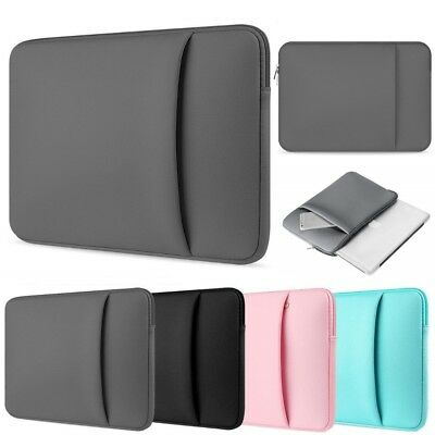 Bag Sleeve Case For HP 10 , 11.6 , 12.5 , 13.3  ,14 Inch Laptop-CHARGER POCKET • 7.80£