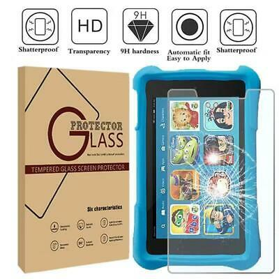 £5.29 • Buy Tablet Tempered Glass Screen Protector For Amazon Kindle Fire Kids Edition 7