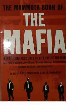 The Mammoth Book Of The Mafia, Cawthorne, Nigel, New Book • 3.89£