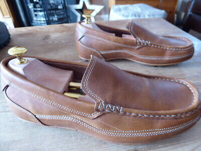 Mens ROCKPORT Loafers - Size 8W ( Uk 7 ) Good Condition • 24.99£