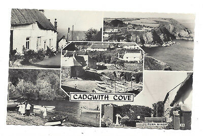 £2.85 • Buy Vintage RP Multi View Postcard Greetings From Cadgwith Cove, Cornwall. Unposted