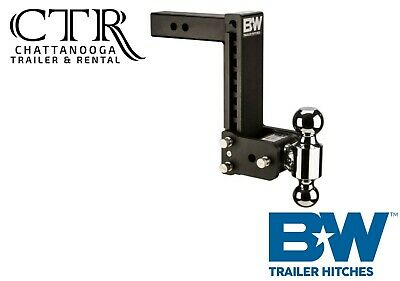 $ CDN379.34 • Buy B&W Trailer Hitches TS10043B, 9  Drop Tow And Stow Adjustable Ball Mount Hitch