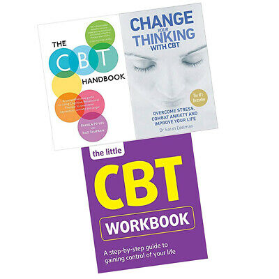 £36.99 • Buy Change Your Thinking With CBT,Handbook,Little Workbook 3 Books Collection Set