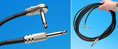 $ CDN24.39 • Buy 18' Cable For Electric Guitar Bass Amp Cord Straight-angle Money Back Guarantee!