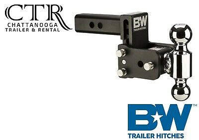 $ CDN323.52 • Buy B&W Trailer Hitches TS10037B, 5  Drop Tow And Stow Adjustable Ball Mount Hitch
