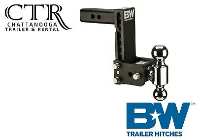 $ CDN333.03 • Buy B&W Trailer Hitches TS10040B, 7  Drop Tow And Stow Adjustable Ball Mount Hitch
