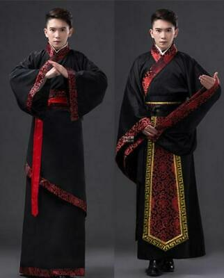 £28.23 • Buy Chinese Han/Tang Suit Clothing Emperor Prince Show Cosplay Suit Robe Costume Men