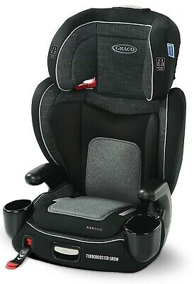 £100.38 • Buy Graco Baby TurboBooster Grow Highback Booster Car Seat Child Safety West Point