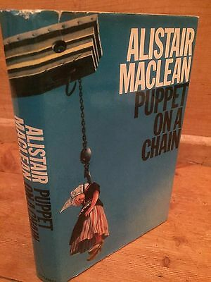 Alistair Maclean First Edition 1969 Puppet On A Chain With Dust Jacket • 9.99£