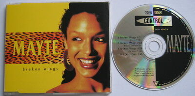PRINCE MAYTE CD Broken Wings EURO 4 Track EXTENDED Mixes MINT / UNPLAYED • 12.95£