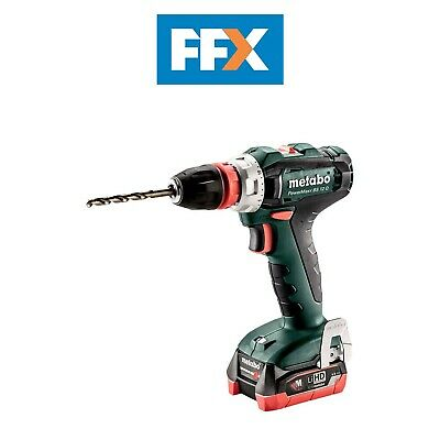 Metabo 601037800 12v 2x4.0Ah LiHD Quick System Drill Driver In Case • 180£