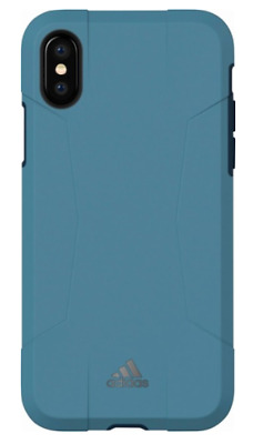 AU9.08 • Buy Brand New OEM Adidas Solo Series Hybrid Hard Case For Apple IPhone X/Xs- Blue