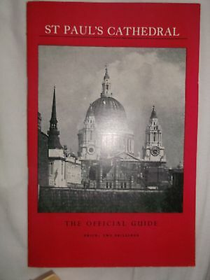 St Pauls Cathedral Guide  1961 Paperback • 5.99£