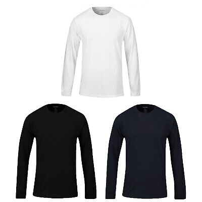 Propper 2 Pack Long Sleeve Cotton Polyester Combed Jersey Tagless T-Shirt • 26.43£