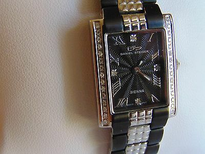 Daniel Steiger 31mm Sienna Midnight Swiss Watch W/ 34 Diamond MUST SEE!!! • 139$