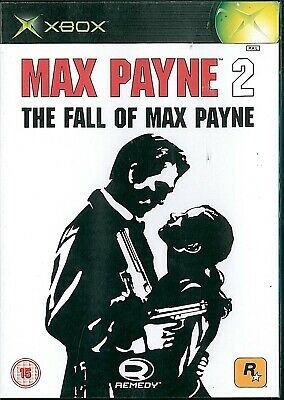 Max Payne 2: The Fall Of Max Payne Microsoft Xbox 15+ Action Shooter Game • 5£