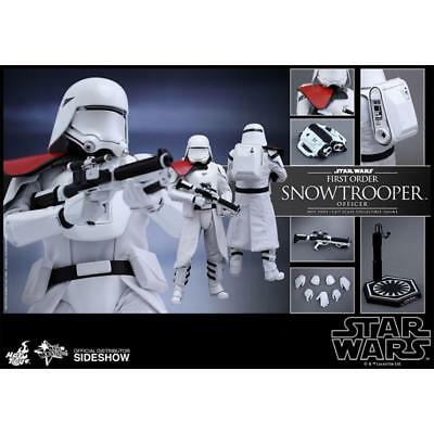 $ CDN233.84 • Buy Hot Toys 1/6 Star Wars Mms322 First Order Snowtroopers Officer Action Figure