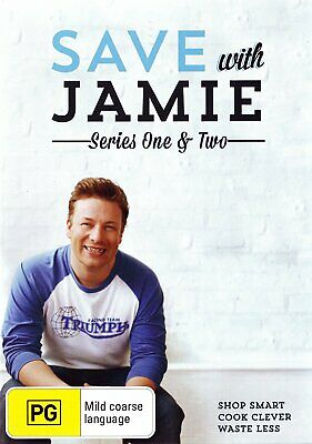 AU19.99 • Buy Save With Jamie - Complete Series 1 & 2 DVD [New/Sealed] Region ALL PAL