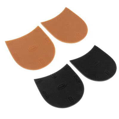 £4.25 • Buy Anti   Rubber Glue On Shoe Boot Sole Heels Pads Shoe Repair Replacements