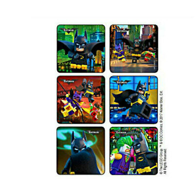 $3.35 • Buy 25 Batman Lego Movie STICKERS Party Favors Supplies For Birthday Treat Loot Bags