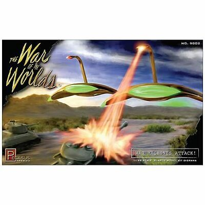 War Of The Worlds 1953 War Machines Attack Diorama Model Kit • 18.25£
