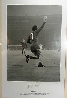 George Best - A Trio Of Signed Pictures With A 1968 European Cup Final 22/250 • 900£