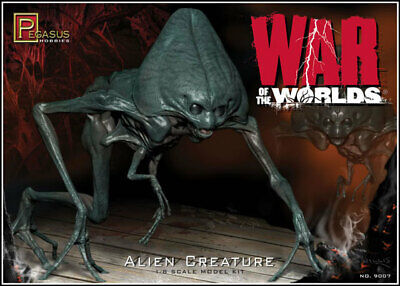 War Of The Worlds 2005 Alien Figure Model Kit • 30.68£