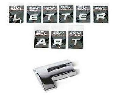 Sumex Chrome 3D Self-Adhesive Letter Art Car Badge Signs Sticker For Home & Auto • 1.79£