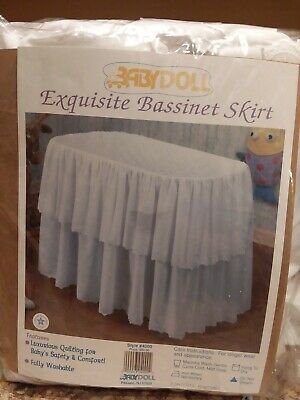 $69.99 • Buy New Baby Doll Exquisite Bassinet Skirt Style #4000