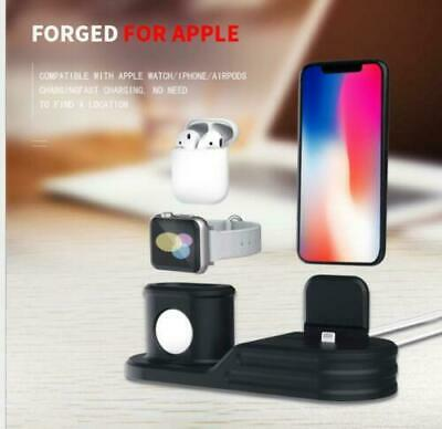 $ CDN17.12 • Buy 3 In1 Charging Dock Charger Station Stand For Apple Watch Series/iPhone/Pod