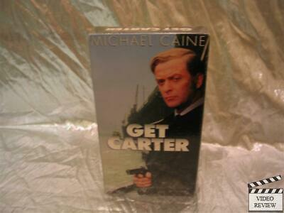 Get Carter VHS Michael Caine NEW • 14.30£