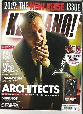 £5.99 • Buy KERRANG #1754 Architects:Rammstein:All Time Low:Bring Me The Horizon + POSTERS
