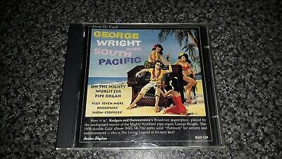 George Wright : George Wright Goes South Pacific CD Everest Records 1995 • 3.50£