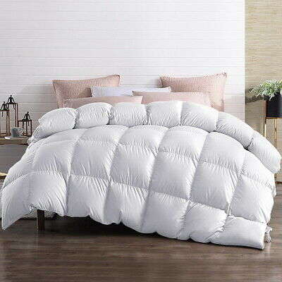 AU65.90 • Buy Giselle Goose Down Feather Quilt 500/700/800GSM All Season Duvet Cover Doona